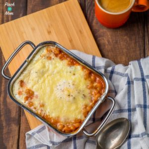 Syn Free Bacon Bean and Egg Bakes