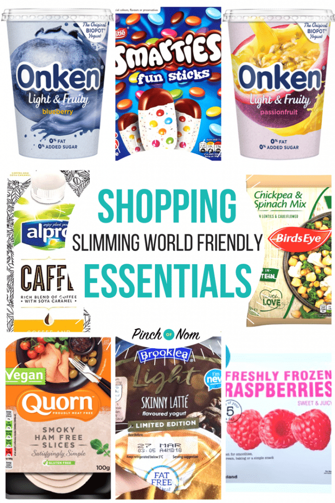 First image - New Slimming World Shopping Essentials 16:3:18