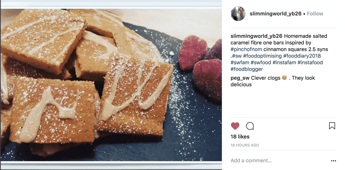 Cinnamon Drizzle Squares | Slimming & Weight Watchers Friendly