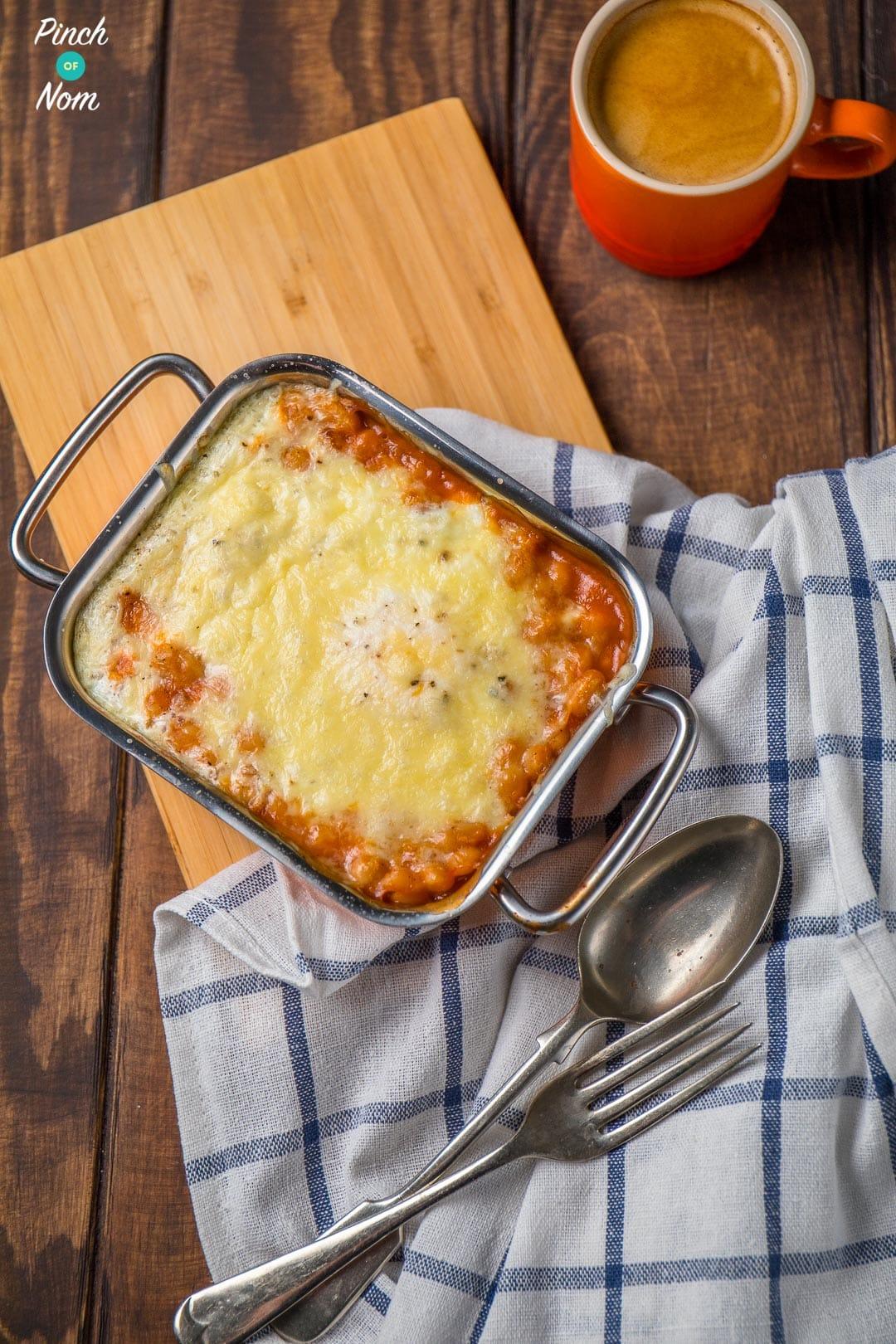 Sausage, Mushroom and Tomato Breakfast Bake | Slimming & Weight Watchers Friendly