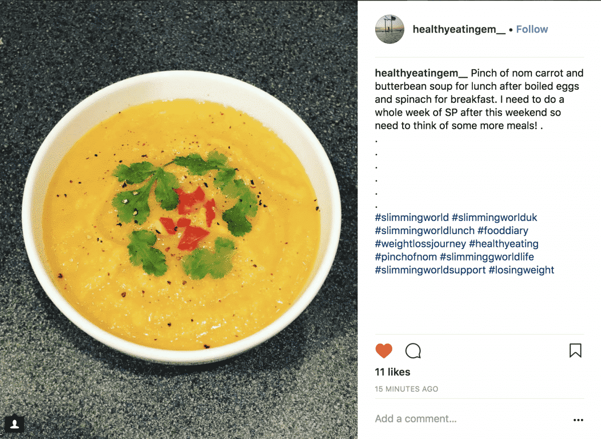 Syn Free Carrot and Butter Bean Soup-healthyeatingem__
