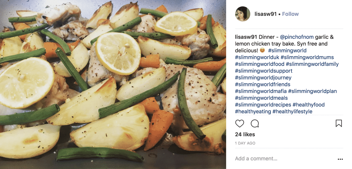 Syn Free Lemon and Garlic Chicken Tray Bake-lisasw91