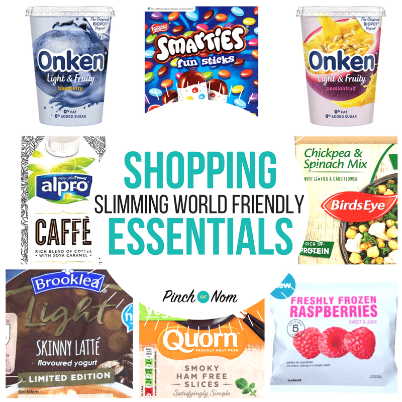 featured image - New Slimming World Shopping Essentials 16:3:18