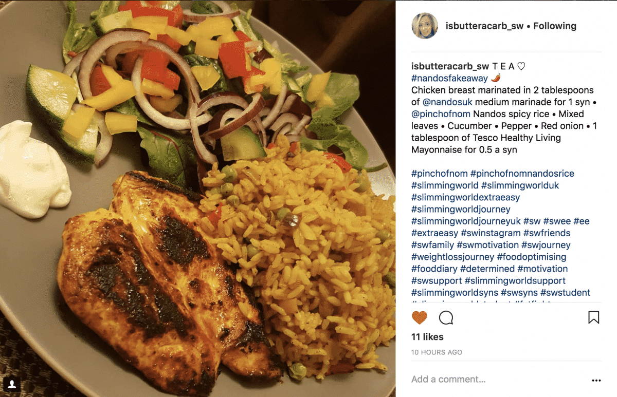 nandos spicy rice-isbutteracarb_sw
