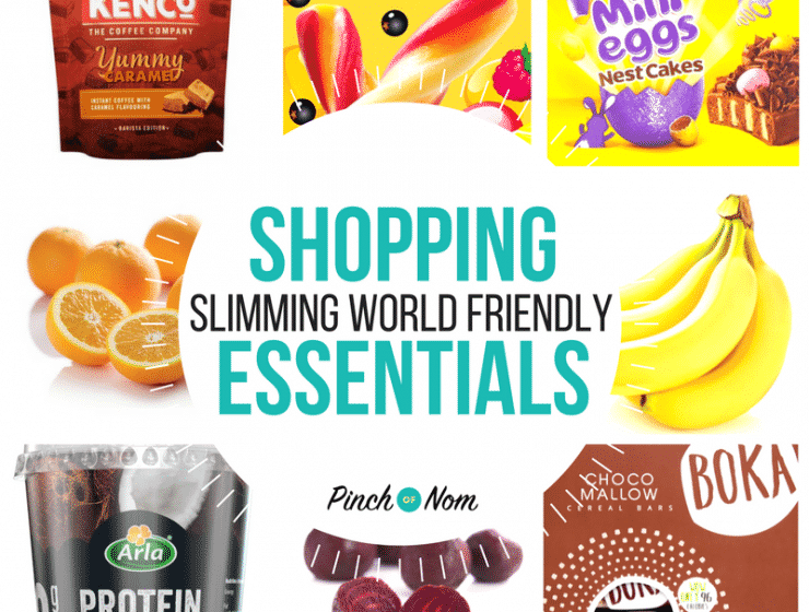 New Slimming World Shopping Essentials 23/3/18