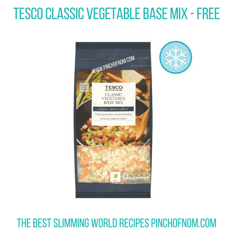 Tesco base mix - Pinch of Nom Slimming World Shopping Essentials