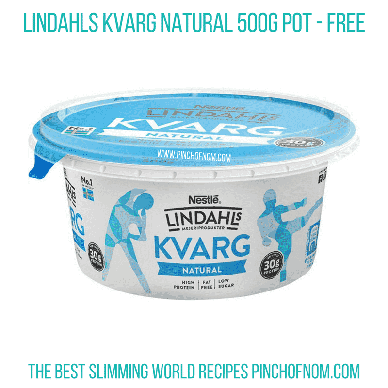 Lindvahls Plain quark - Pinch of Nom Slimming World Shopping Essentials