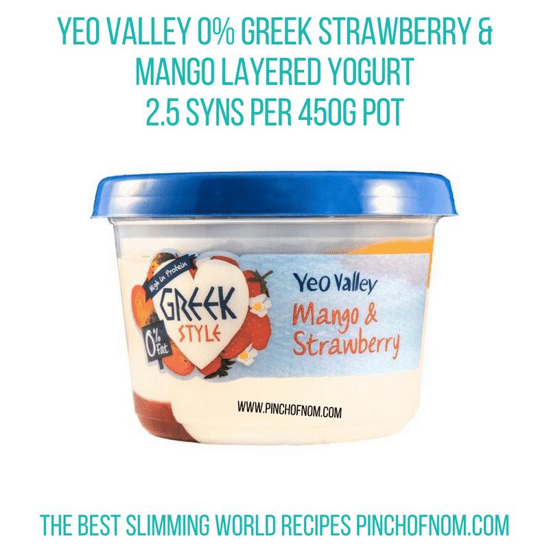 Yeo Strawberry Mango - Pinch of Nom Slimming World Shopping Essentials