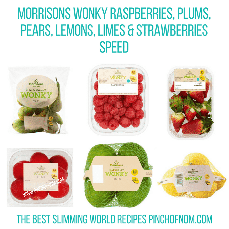 Morrisons Wonky Fruit - Pinch of Nom Slimming World Shopping Essentials