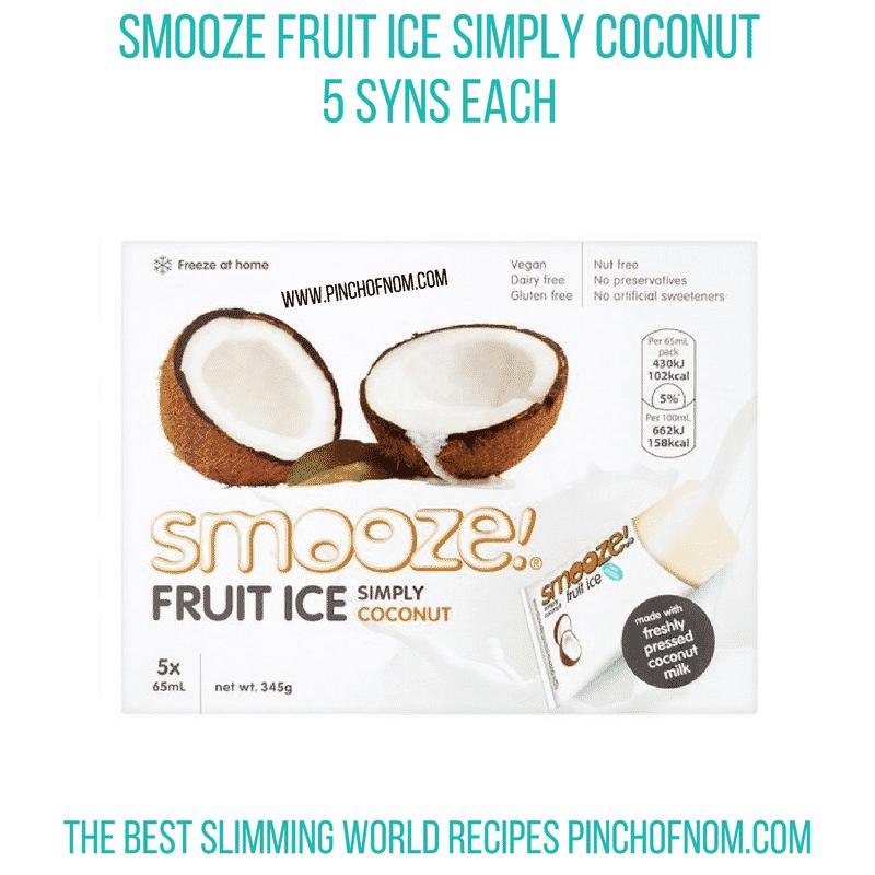 Smooze Coconut - Pinch of Nom Slimming World Shopping Essentials