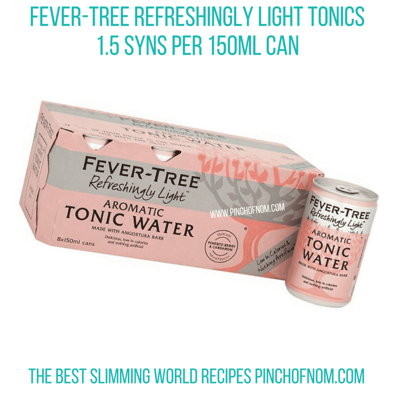 Fever-Tree Light - Pinch of Nom Slimming World Shopping Essentials