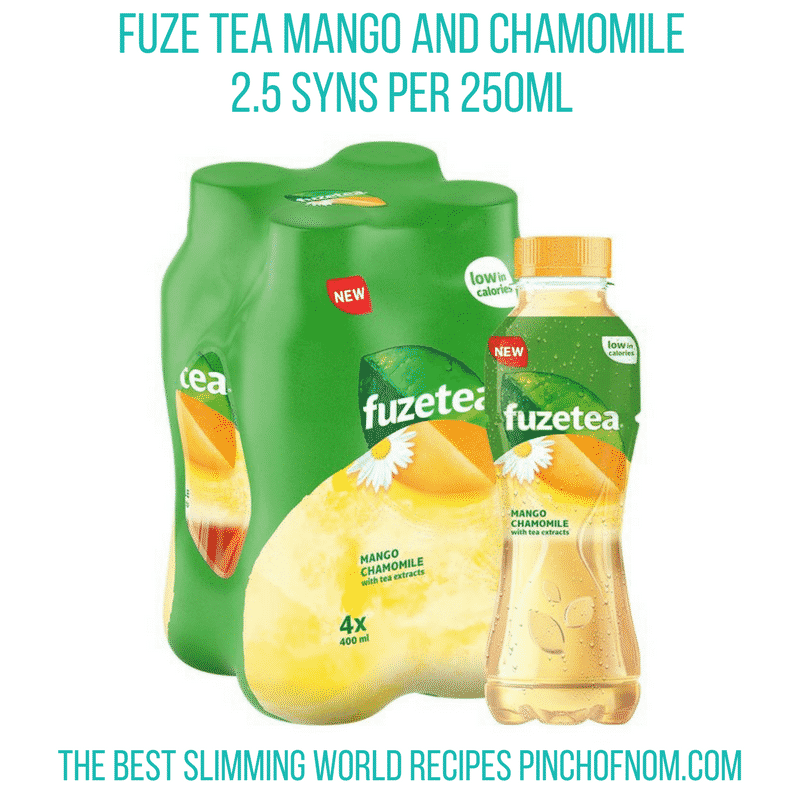 Fuze tea mango - Pinch of Nom Slimming World Shopping Essentials