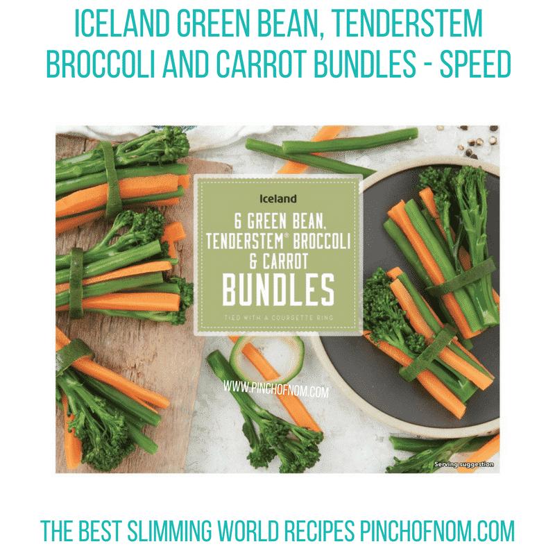 Iceland Veg Bundles - Pinch of Nom Slimming World Shopping Essentials