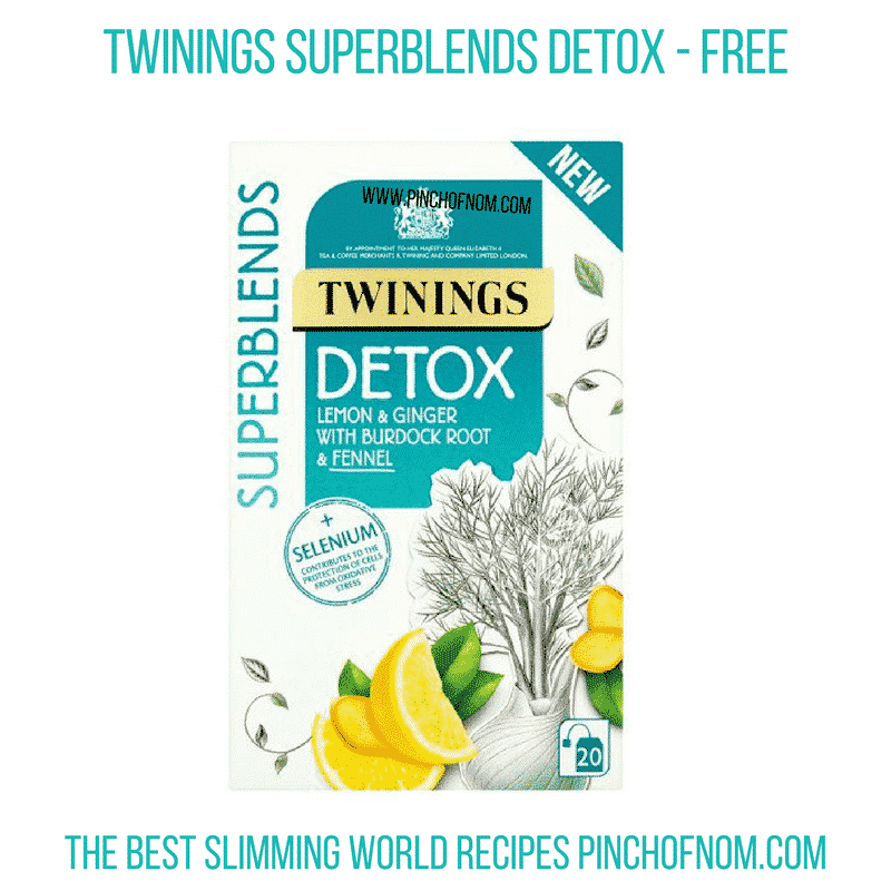 New Slimming World Shopping Essentials 6/4/18 - Twinings Superblend Detox
