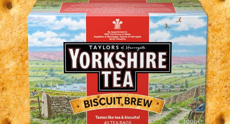 Shopping Essentials Top Pick - Yorkshire Tea Biscuit Brew