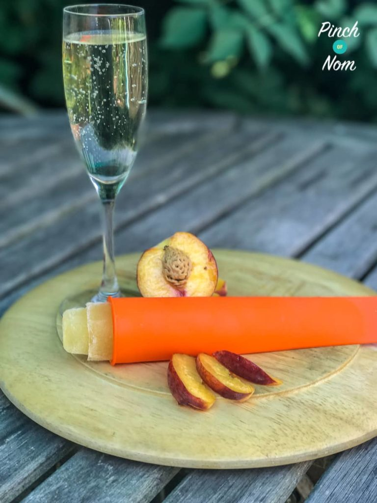 Bellini Popsicles | Slimming & Weight Watchers Friendly