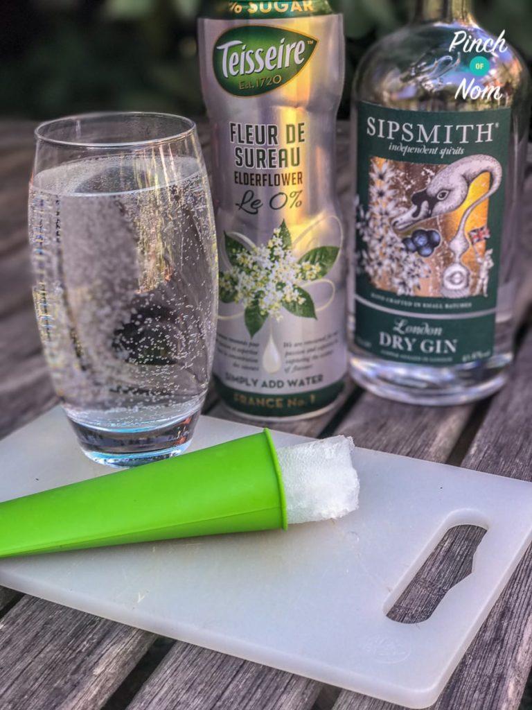 Elderflower Gin Ice Lollies | Slimming & Weight Watchers Friendly