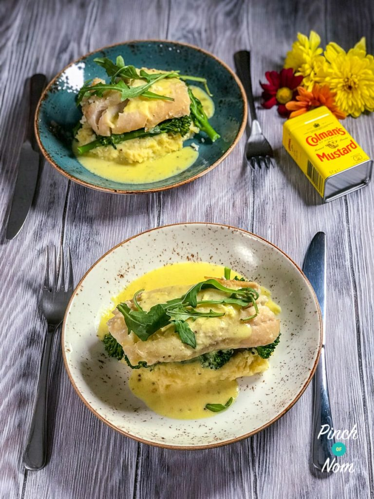 Low Syn Smoked Haddock & Creamy Mustard Sauce