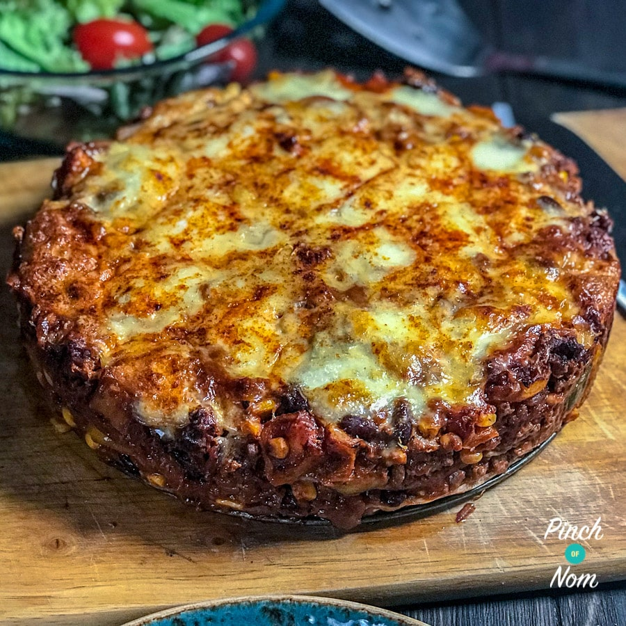 Syn Free Enchilada Lasagne | Slimming World