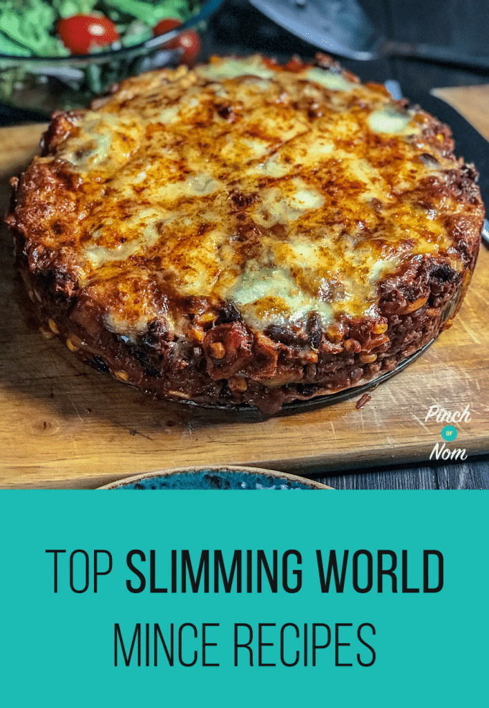 Top Slimming World Mince Recipes