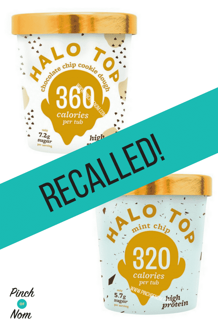 halo top recall first image
