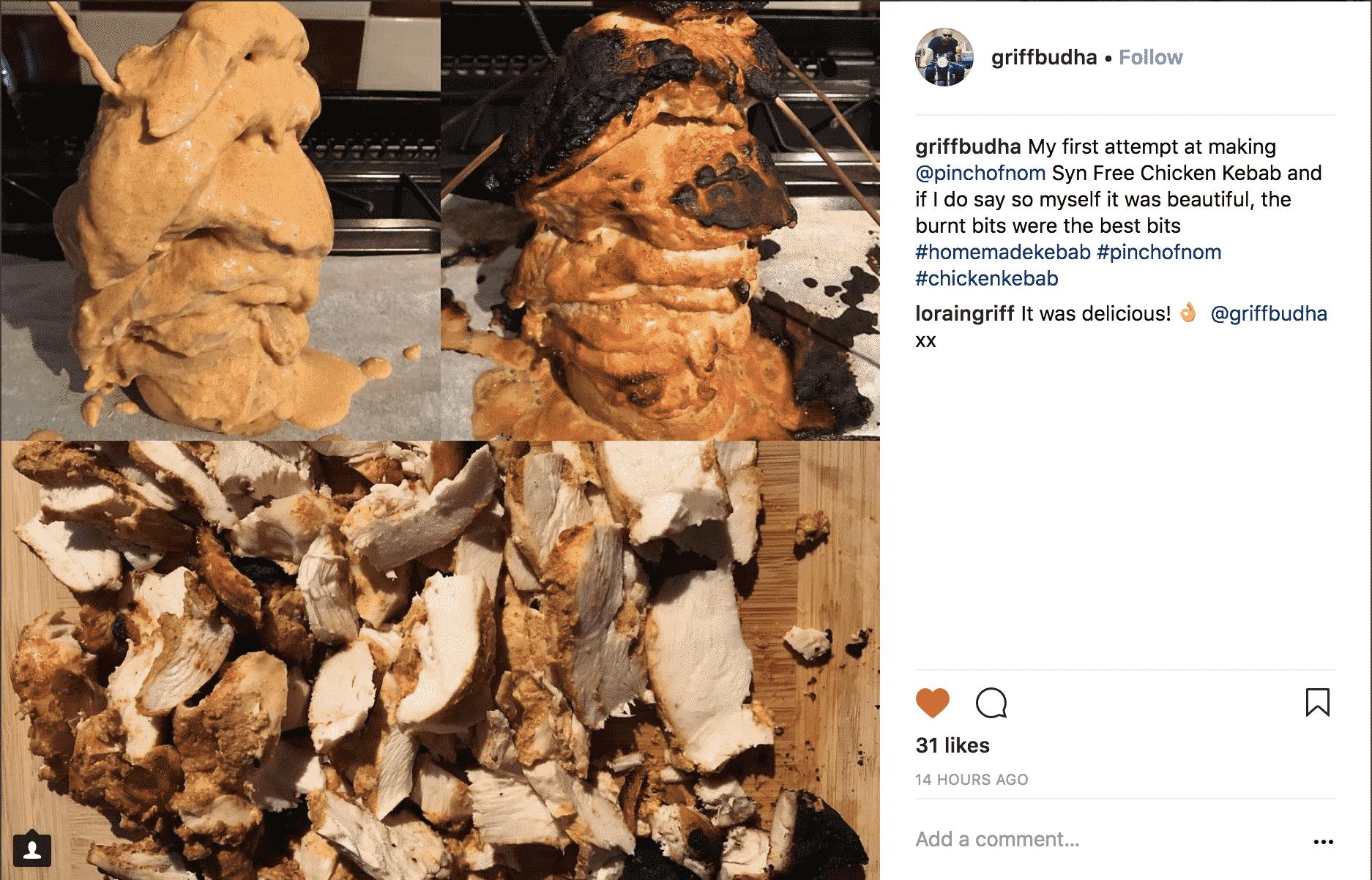 Chicken Gyros Kebabs | Slimming & Weight Watchers Friendly