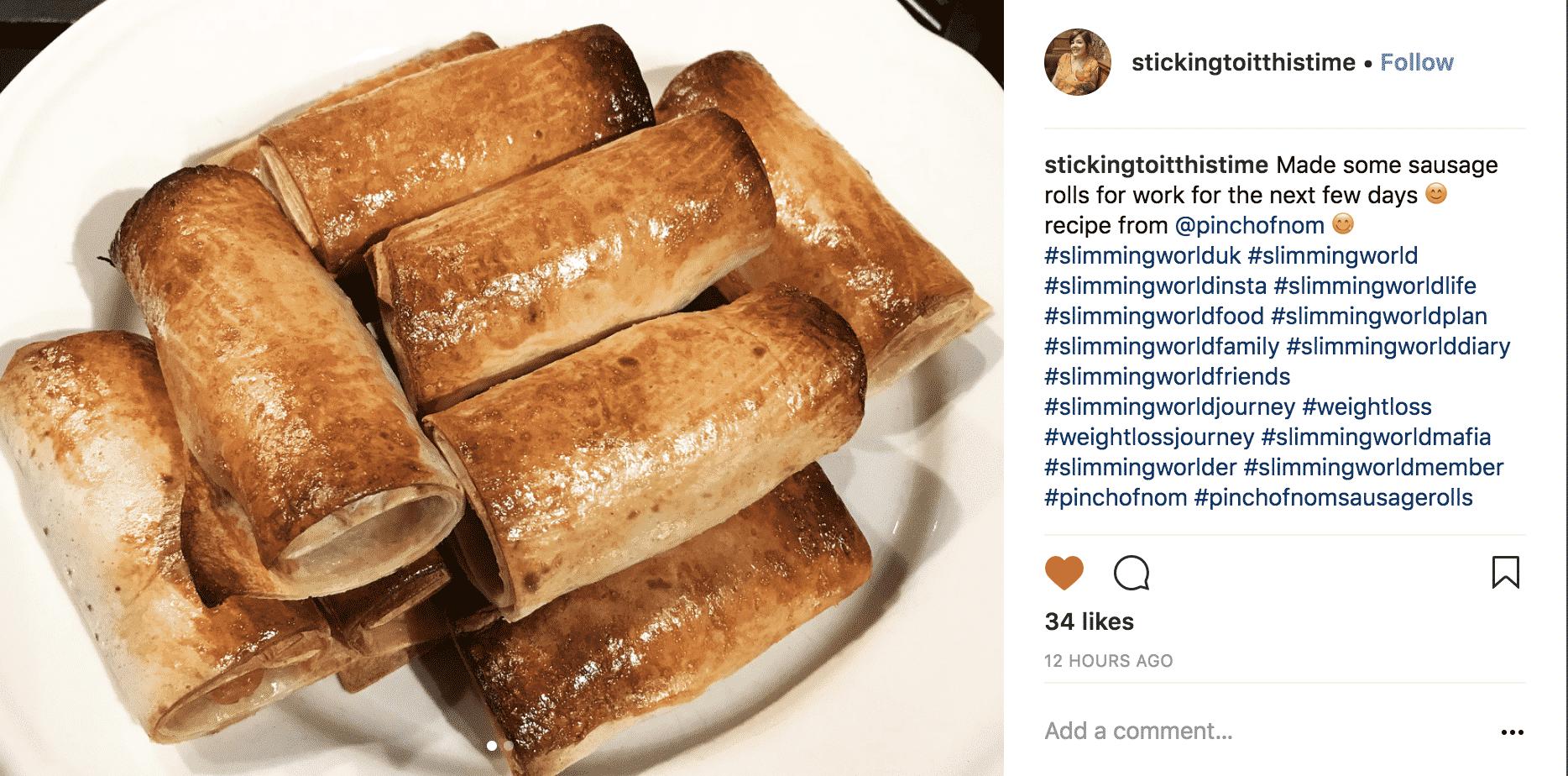 sausage rolls stickingtoitthistime