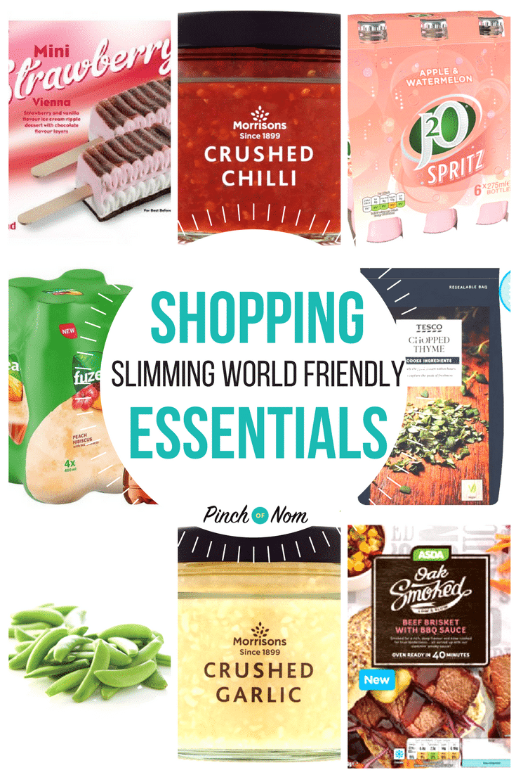 new slimming world shopping essentials 20 4 18 pinch of nom
