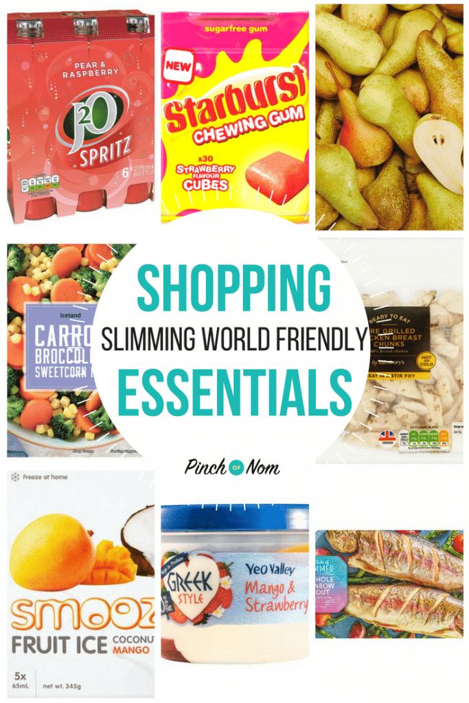 New Slimming World Shopping Essentials 27/4/18