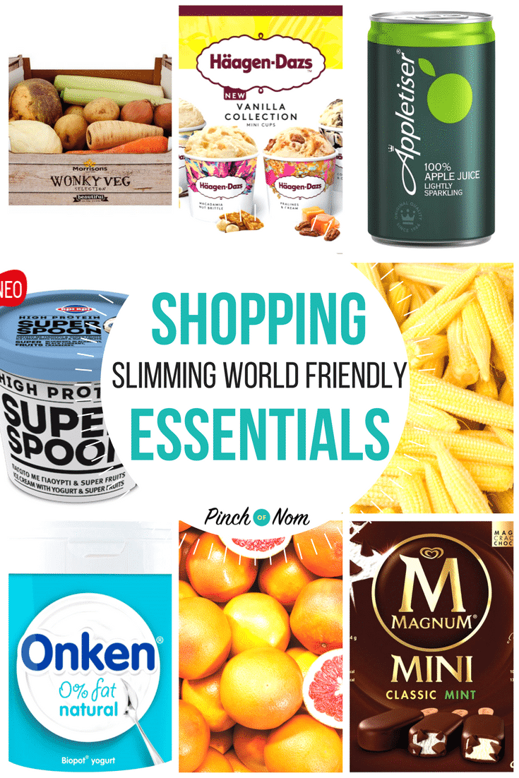 New Slimming World Shopping Essentials 6/4/18 - First Image