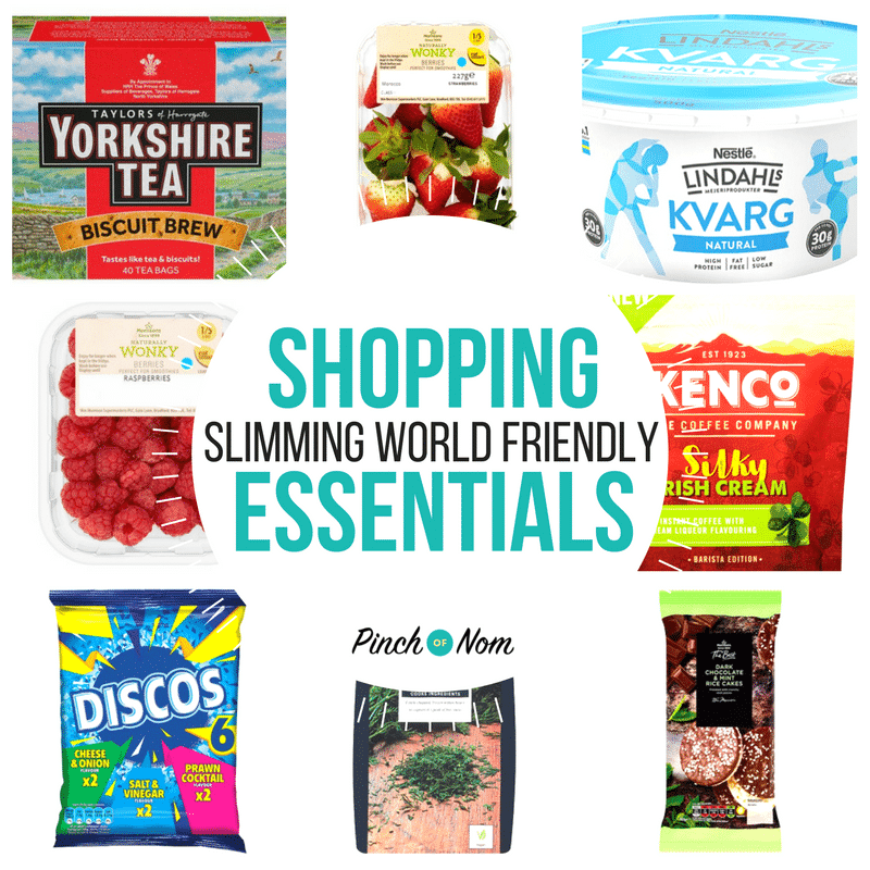 New Slimming World Shopping Essentials 13/4/18