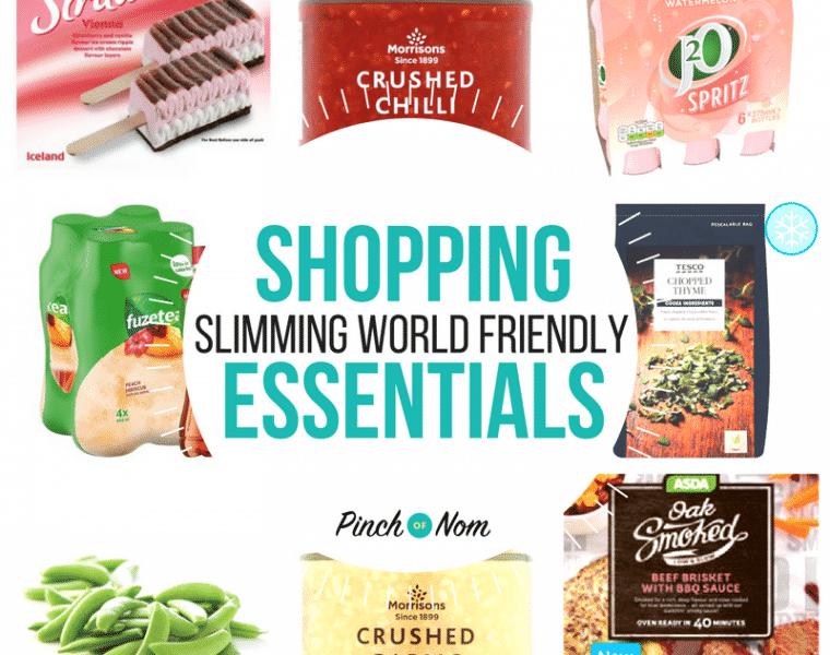 Pinch of Nom Slimming World Shopping Essentials - featured image