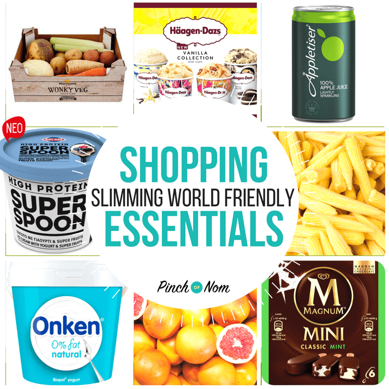 New Slimming World Shopping Essentials 6/4/18 - Pinch Of Nom