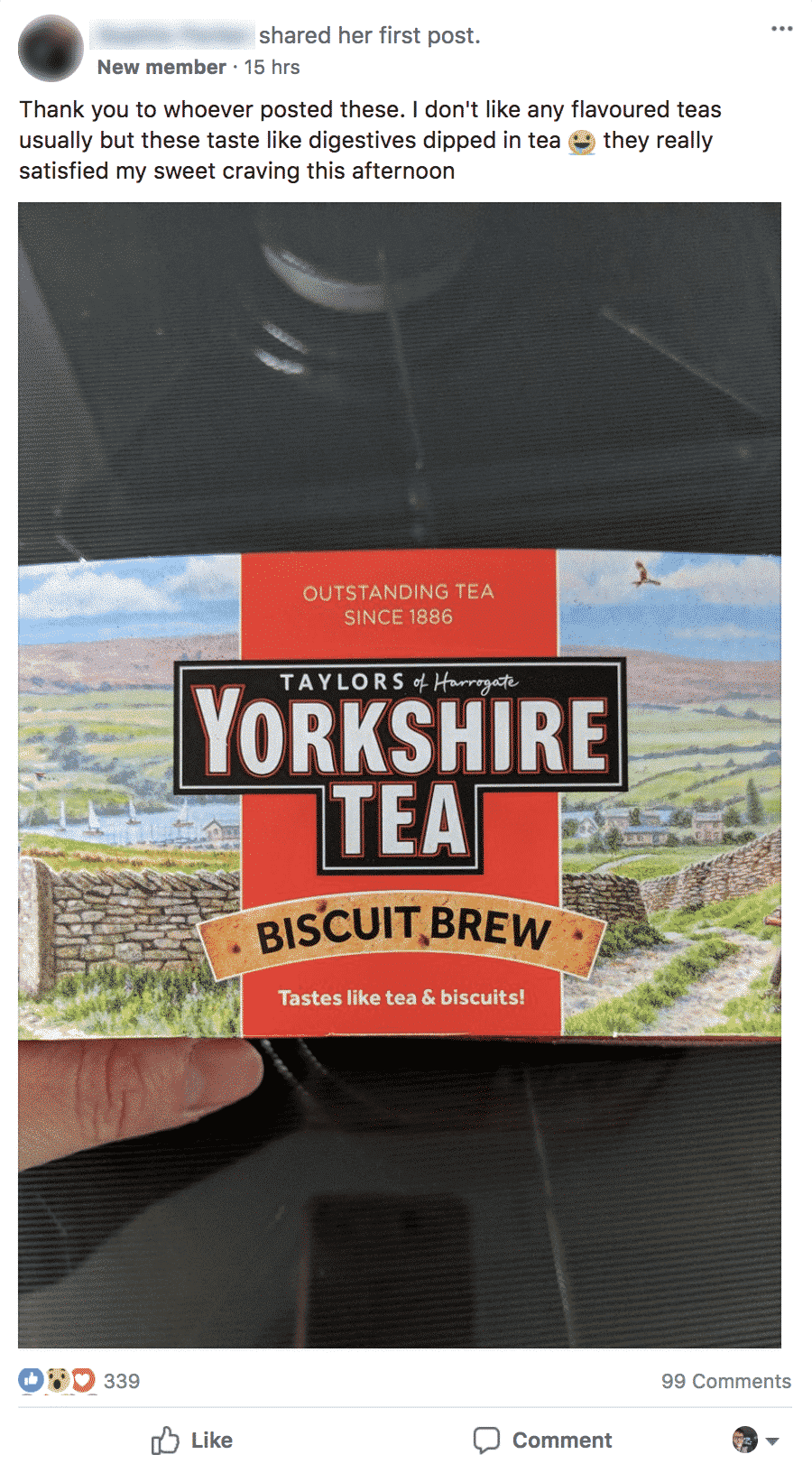 yorkshire tea FB group1