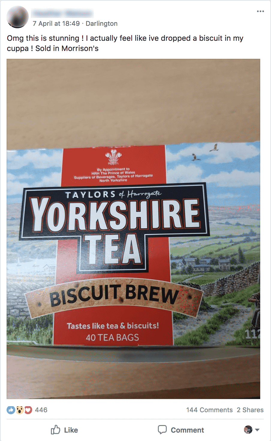 yorkshire tea FB group2
