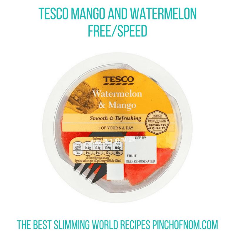 Tesco Mango & Watermelon - Pinch of Nom Slimming World Shopping Essentials