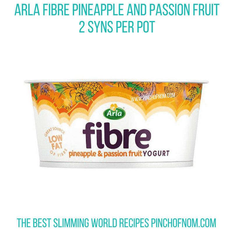 Arla Fibre pineapple - Pinch of Nom Slimming World Shopping Essentials