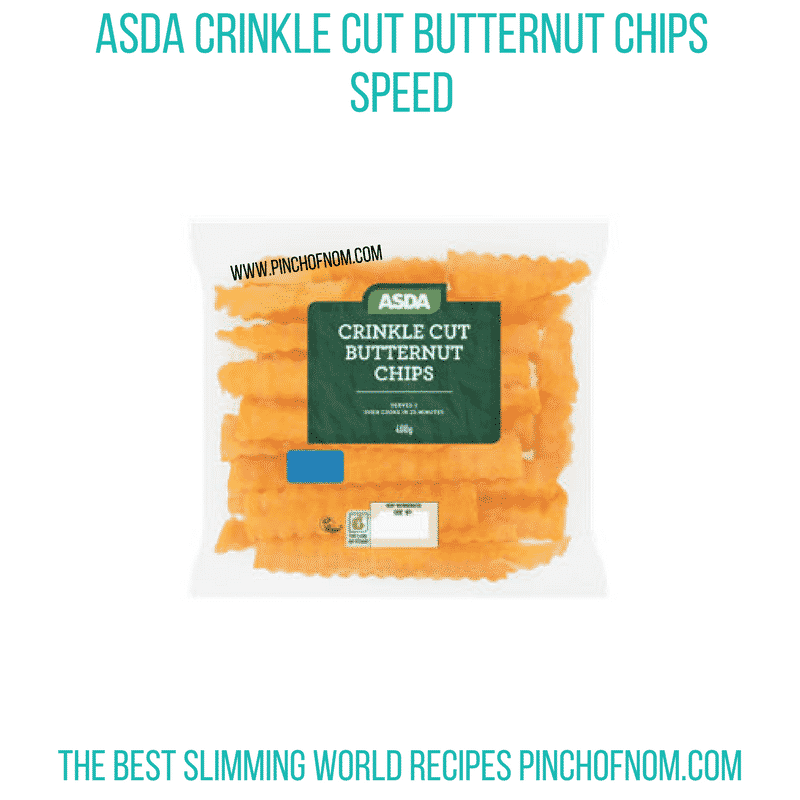 Crinkle cut BNS chips - Pinch of Nom Slimming World Shopping Essentials