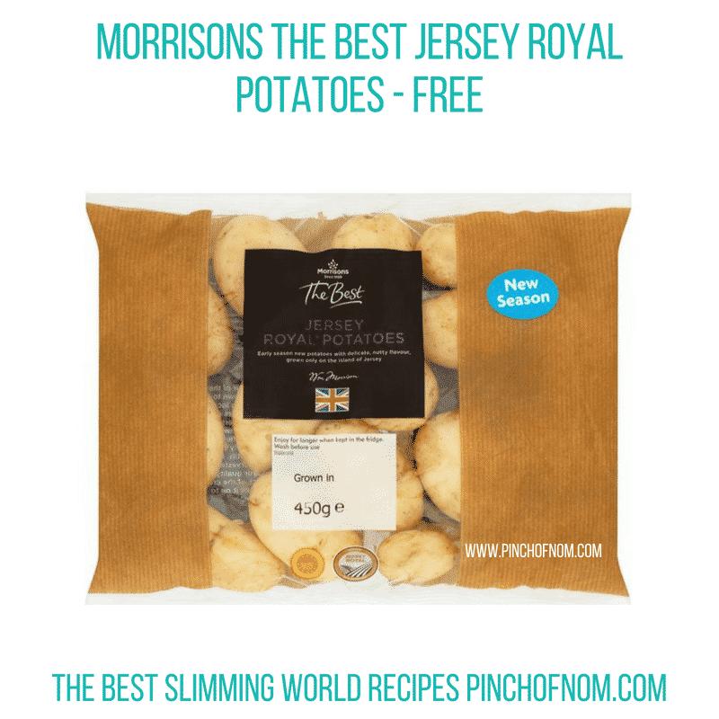 The Best Jersey Royals - Pinch of Nom Slimming World Shopping Essentials