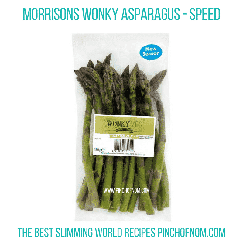 Wonky Asparagus - Pinch of Nom Slimming World Shopping Essentials