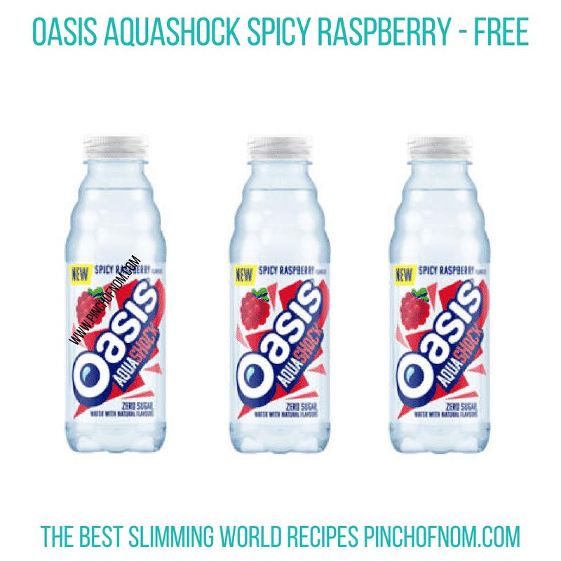 Oasis Aquashock - Pinch of Nom Slimming World Shopping Essentials