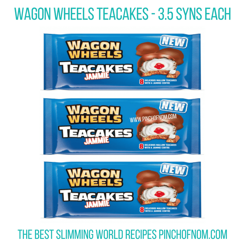Wagon Wheels teacakes - Pinch of Nom Slimming World Shopping Essentials