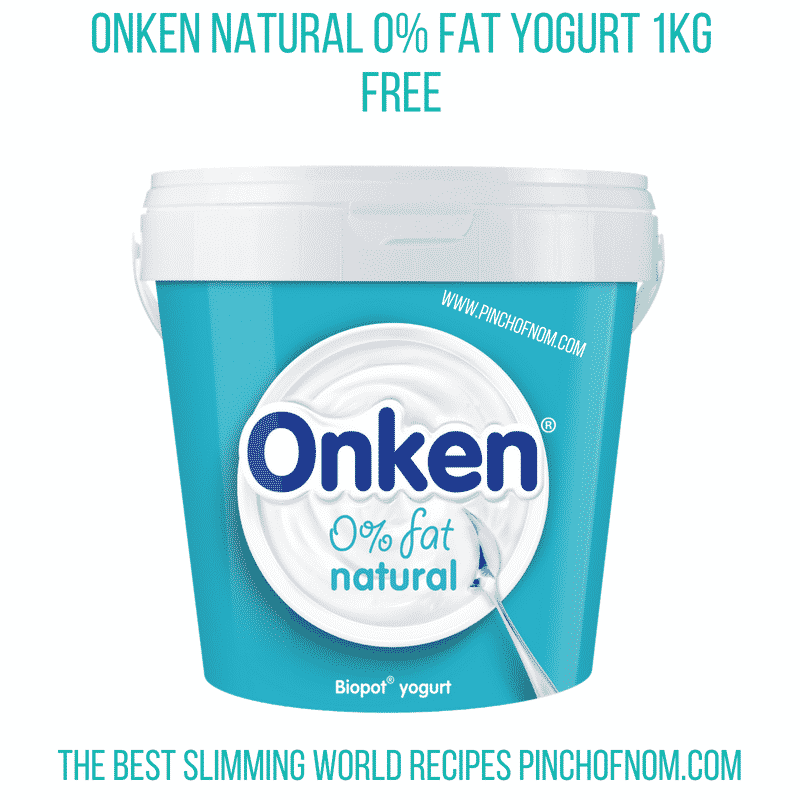 Onken Natural 0% fat yogurt - Pinch of Nom Slimming World Shopping Essentials