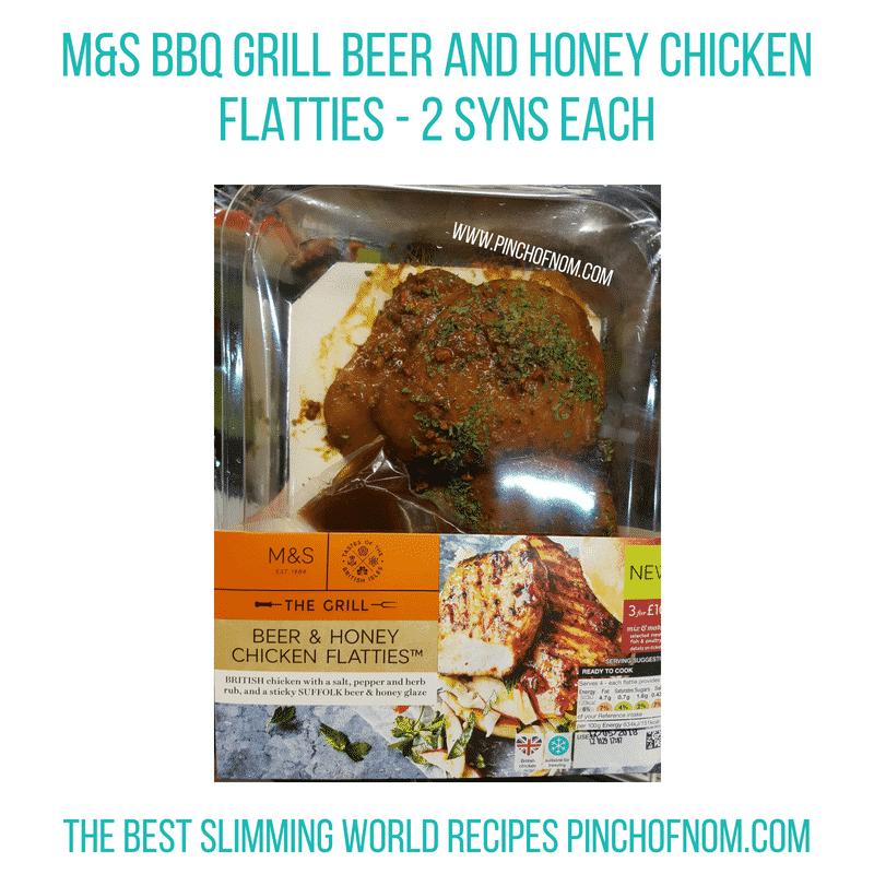M&S Beer & Honey flatties - Pinch of Nom Slimming World Shopping Essentials
