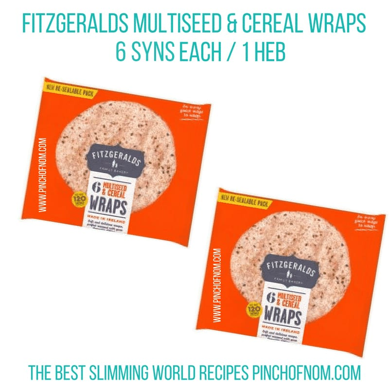 Which Wraps And Pittas Are Healthy Extras | Slimming World