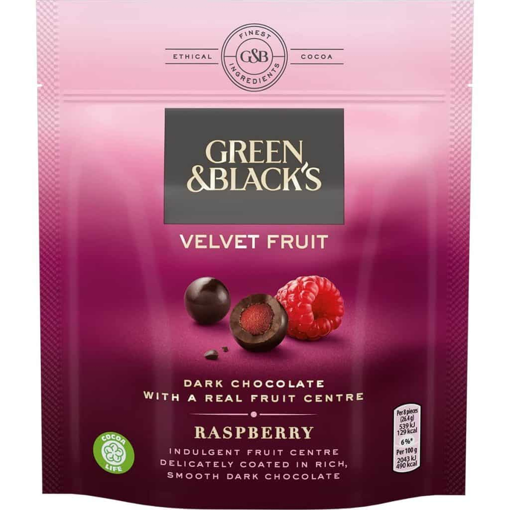 Shopping Essentials Top Pick – Green & Black's Velvet Fruit | Slimming World