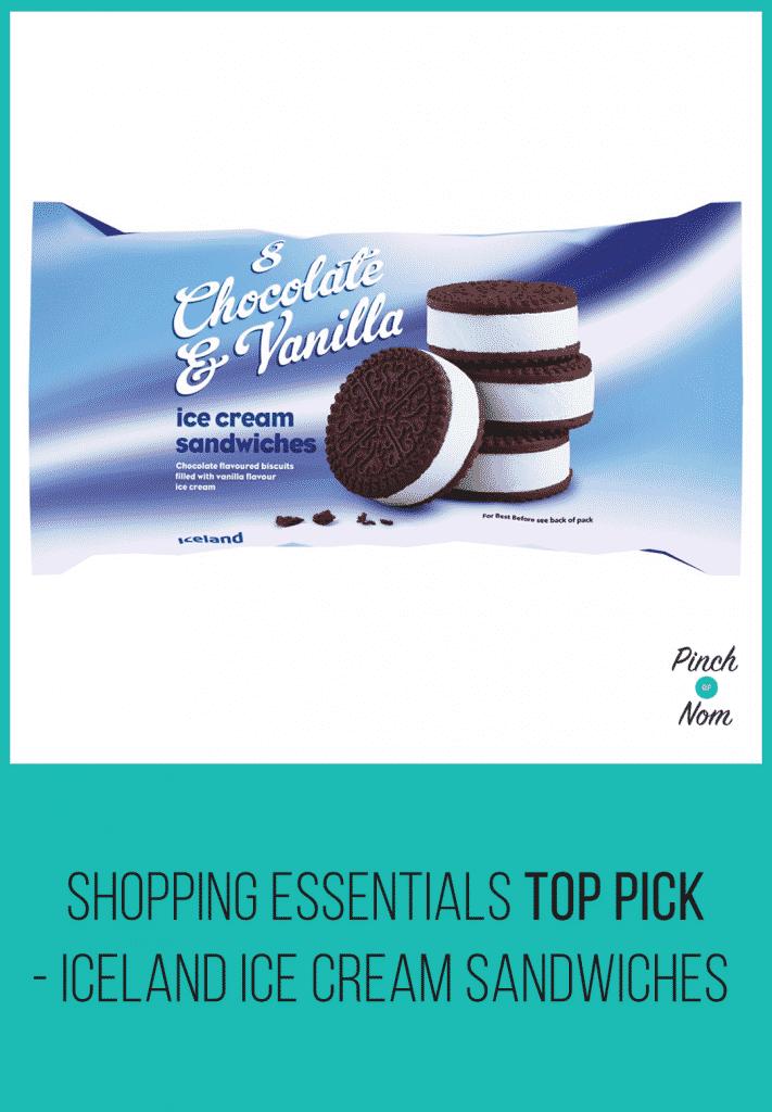 Shopping Essentials Top Pick – Iceland Ice Cream Sandwiches | Slimming World