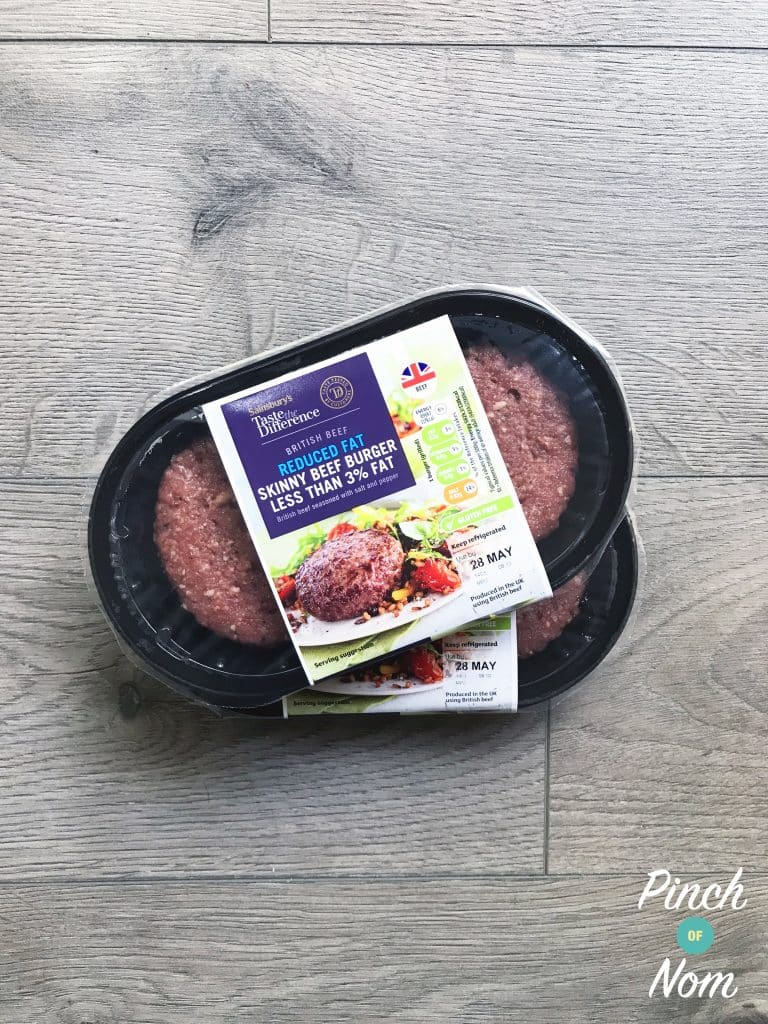 Shopping Essentials Top Pick – Sainsbury's Skinny Beef Burgers | Slimming World