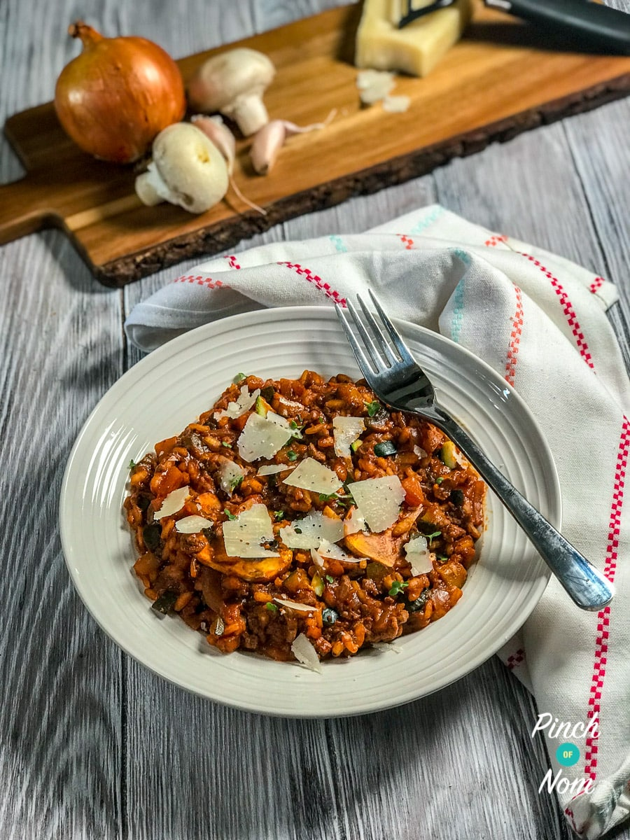 Syn Free Bolognese Risotto | Slimming World