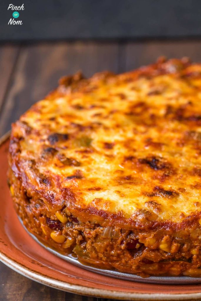 Enchilada Lasagne | Slimming & Weight Watchers Friendly